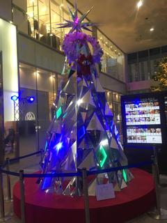 ここにもクリスマスツリー見つけた‼︎